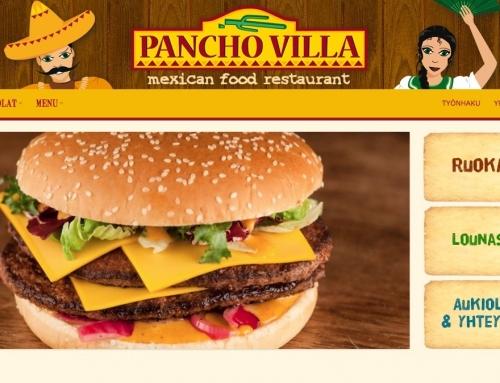 Pancho Villan kotisivut
