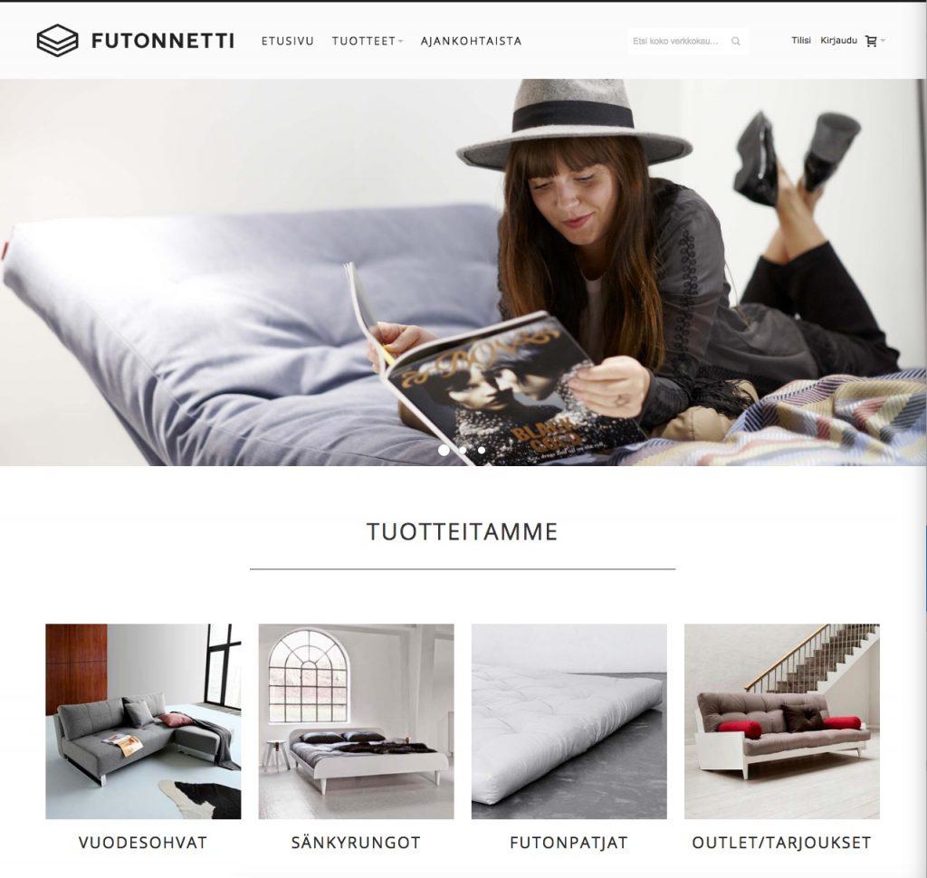 Futonnetti.fi -verkkokauppa